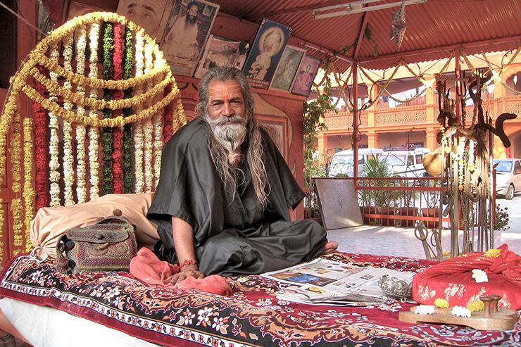 Pir of Naga Babas