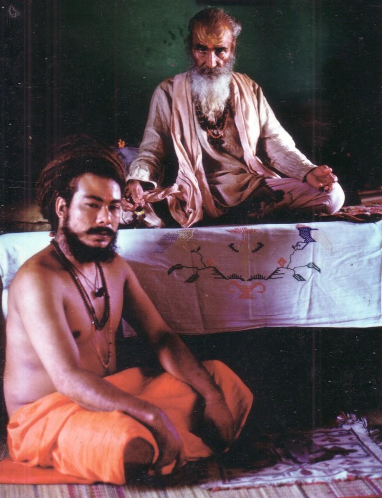 Naga Baba Bir Giri Ji & Guru Gauri Giri Ji