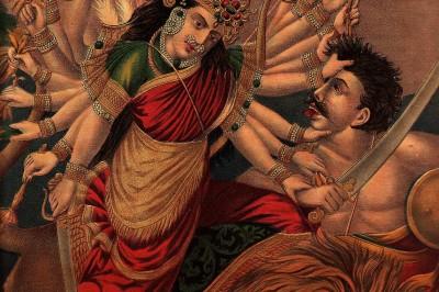 Mahishasura mardini - Navratri Durga Puja