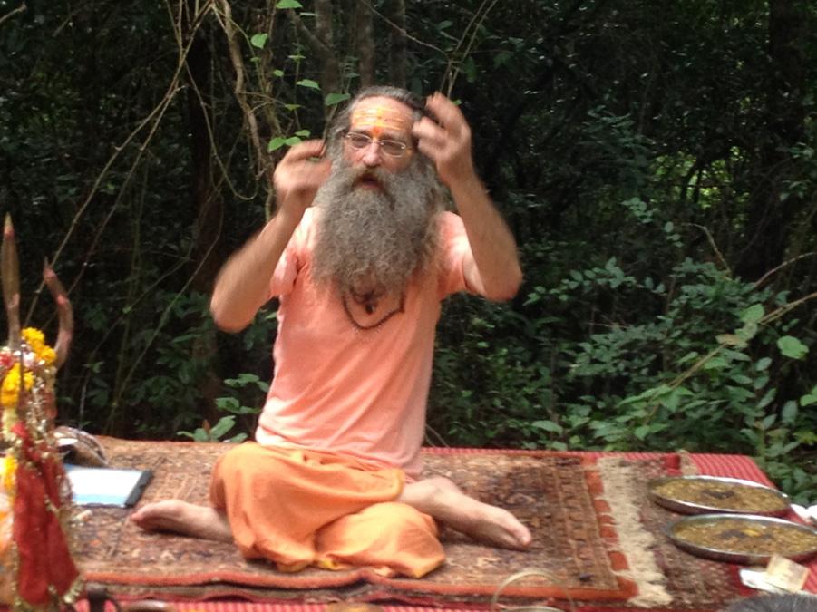 gesture of spiritual discourse