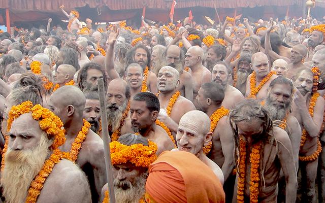 Kumbh Mela Naga Sadhus