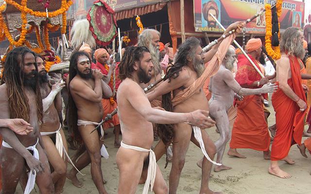 """""""Shahi Snan Guru Dattatreya bath"""""""
