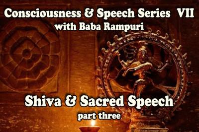 shiva - his drum of consciousness