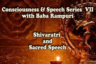 Shivaratri and Sacred Speech