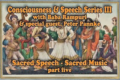Sacred Speech Sacred Music
