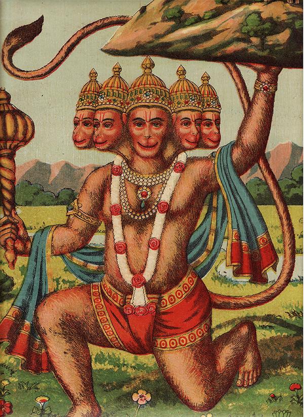 hanuman s signet ring from chap 6 baba rampuri