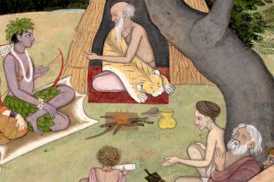 Ram and Guru Vashith