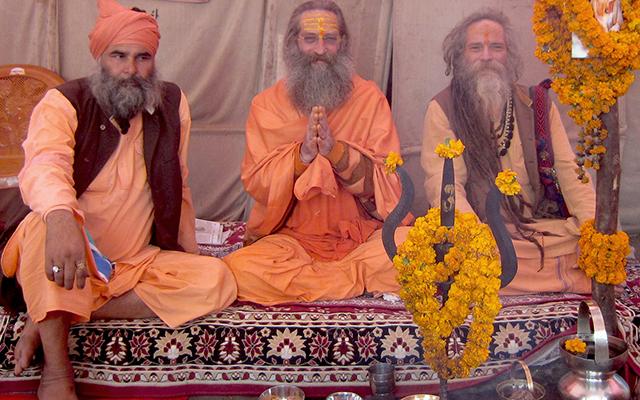 """""""Kumbh Mela welcome Baba Rampuri"""""""